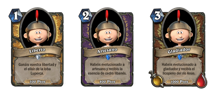 cartas logros gamification
